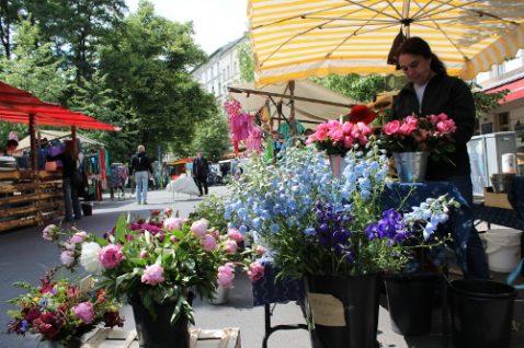Blumen vom Bio-Hof
