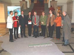 Übergabe der Berliner Agenda im Berliner Abgeordnetenhaus