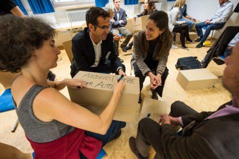 Workshop auf dem Netzwerk21Kongress