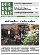 Titelbild Rabe Ralf Dezember 2009