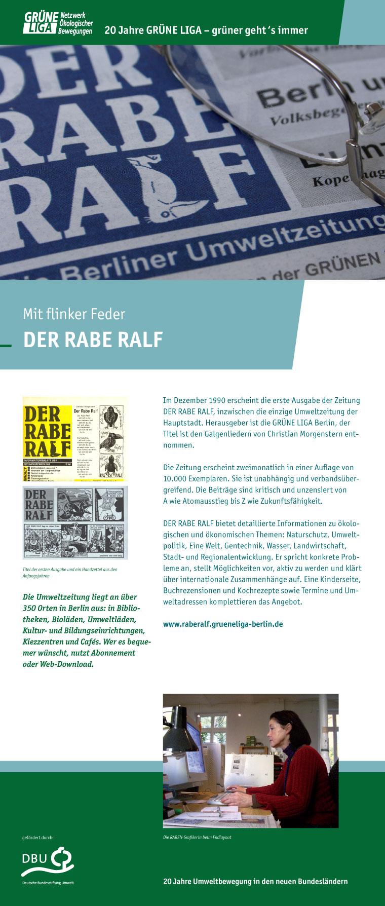 Mit flinker Feder - DER RABE RALF