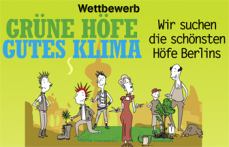 GRÜNE HÖFE = GUTES KLIMA Banner