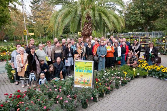 Die Gewinner des Hofwettbewerbs im Pflanzenmarkt