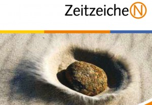 Stein und Zeitzeichen-Logo