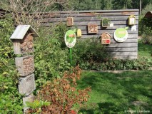 Insektenhotel – Austauschfahrt im Rahmen der Bildung für nachhaltige Entwicklung in Schulgärten und auf grünen Schulhöfen © GRÜNE LIGA Berlin