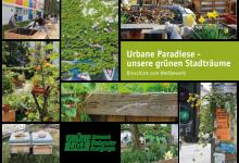 Titel Broschüre Urbane Paradiese - unsere grünen Stadträume