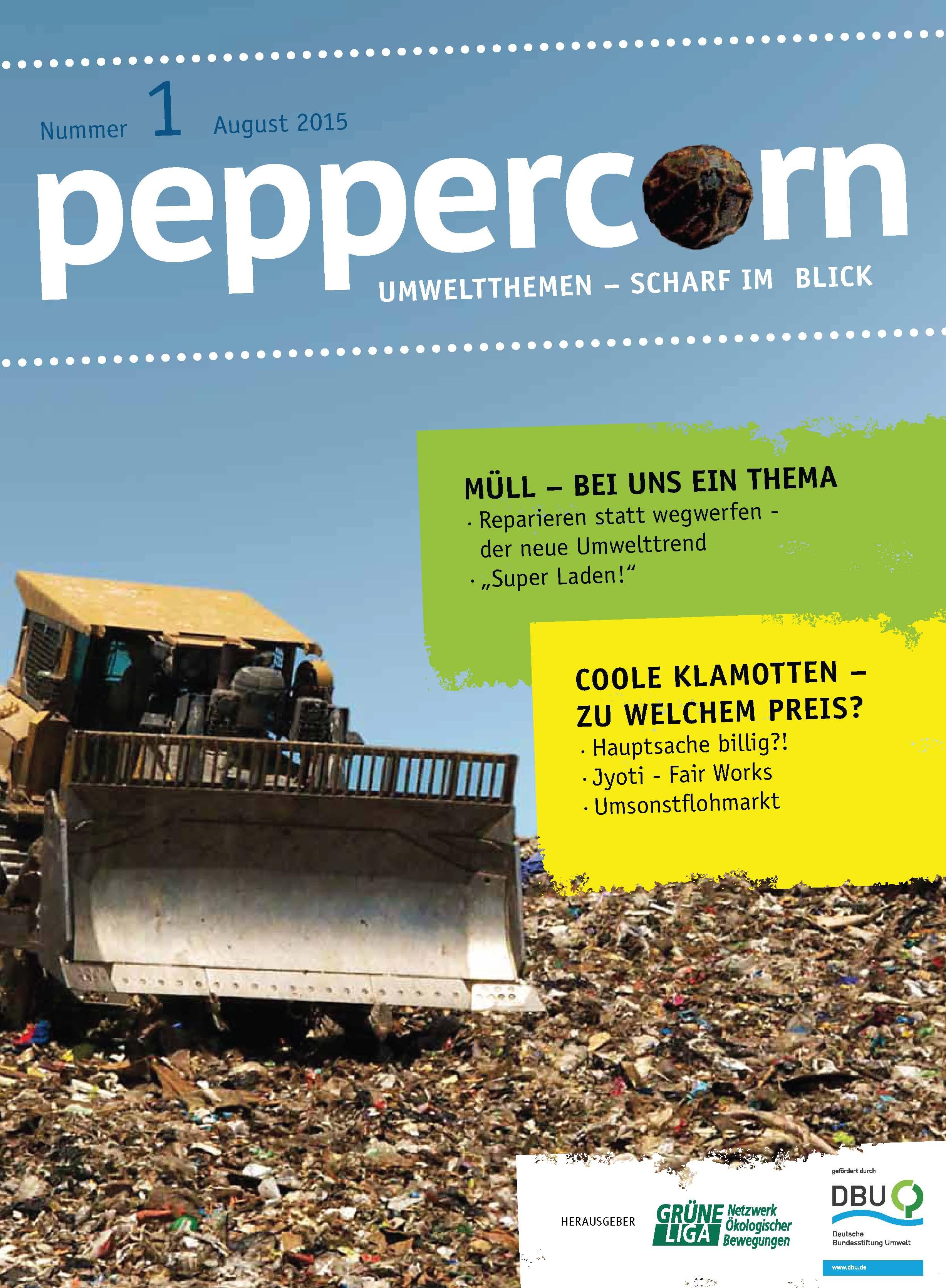 peppercorn umweltthemen scharf im blick gr ne liga berlin e v netzwerk kologischer bewegungen. Black Bedroom Furniture Sets. Home Design Ideas