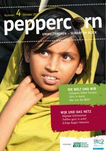 Titelseite zeitschrift Peppercorn Nr. 4