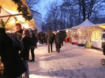 Ansicht Adventsmarkt GRÜNE LIGA Berlin