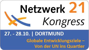 Alle Informationen zum Netzwerk21Kongress 2016