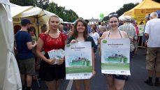 Organisationsteam auf dem Umweltfestival