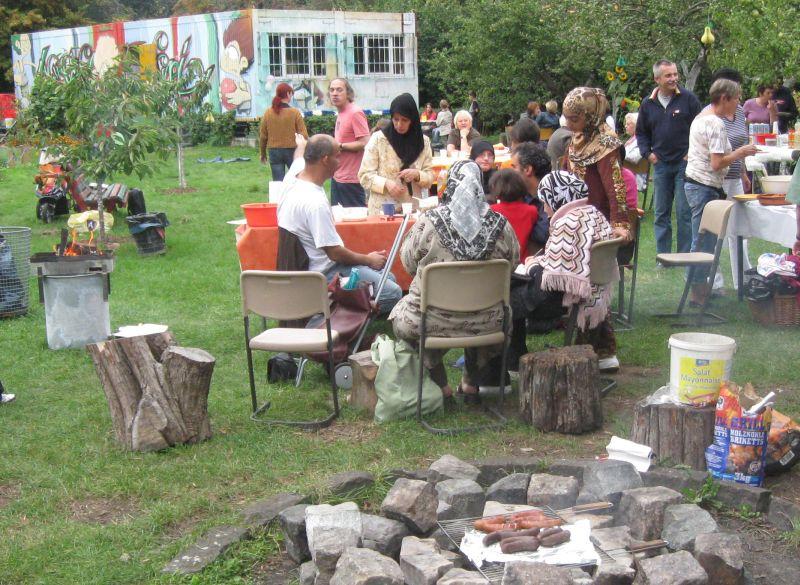 Interkultureller Generationen Garten