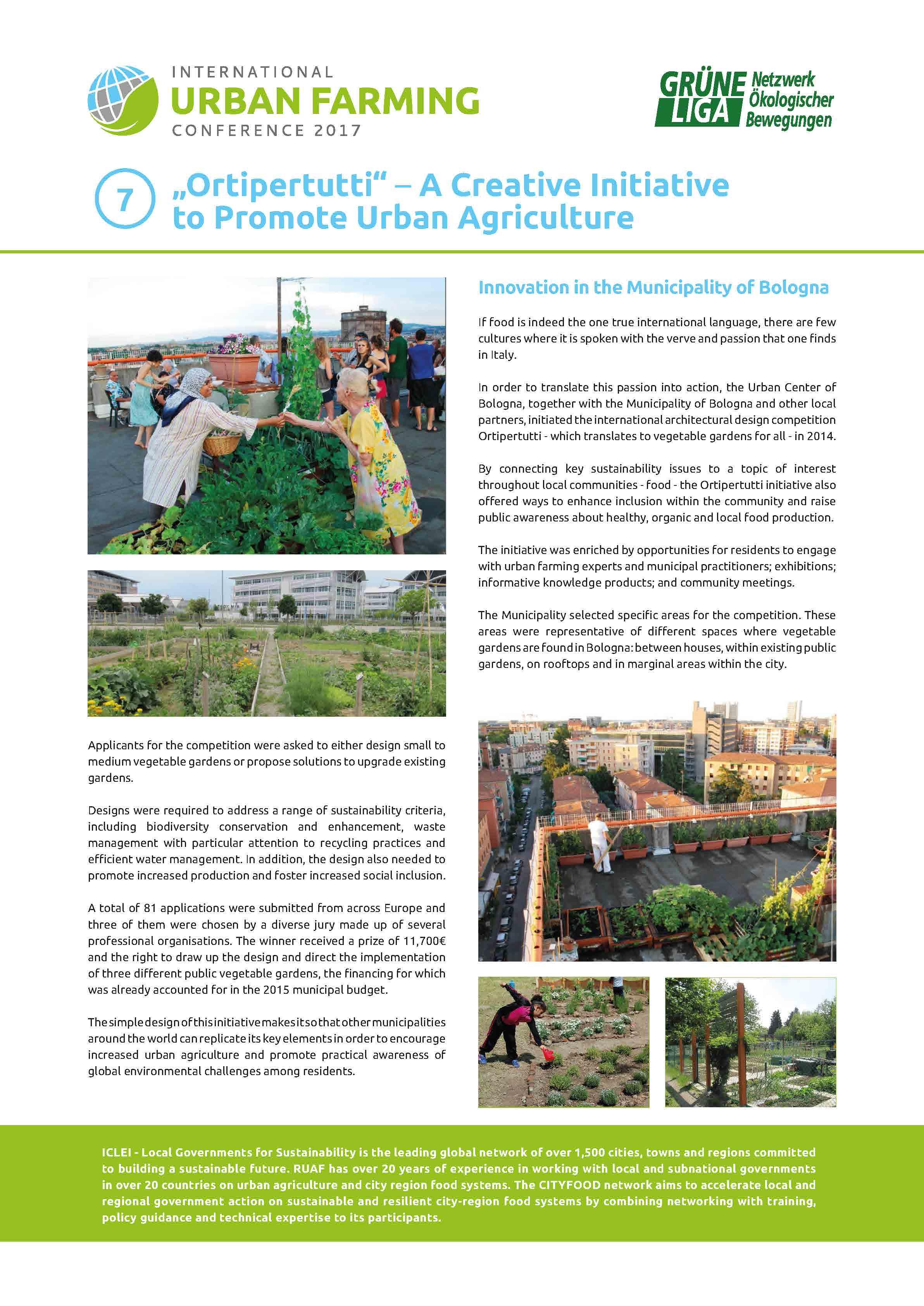Astonishing Documentation International Urban Farming Conference Grune Download Free Architecture Designs Scobabritishbridgeorg