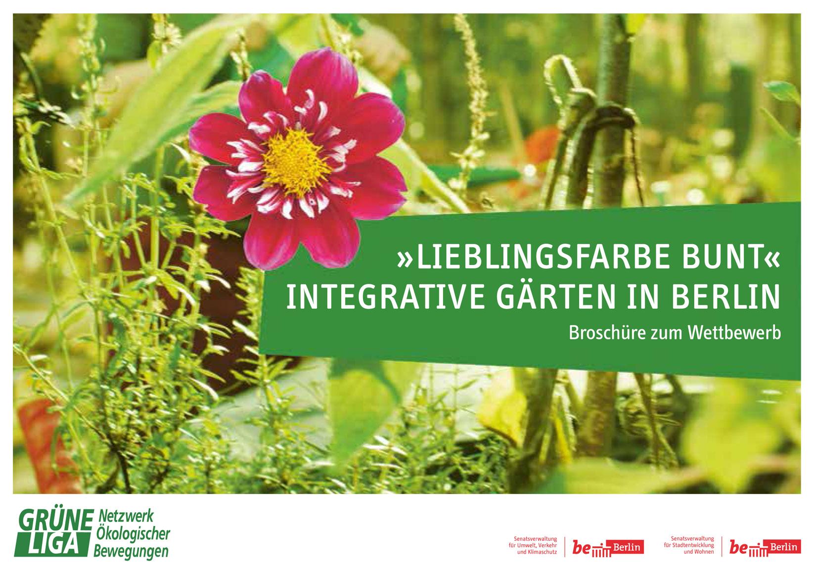 Lieblingsfarbe bunt - integrative Gärten in Berlin