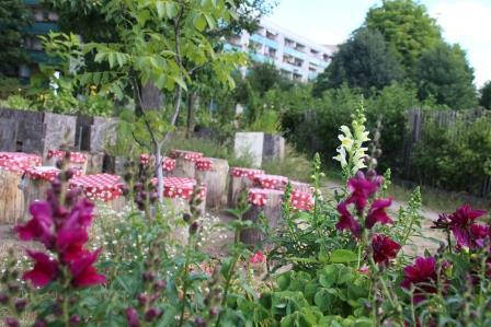 Integrierte urbane Gärten